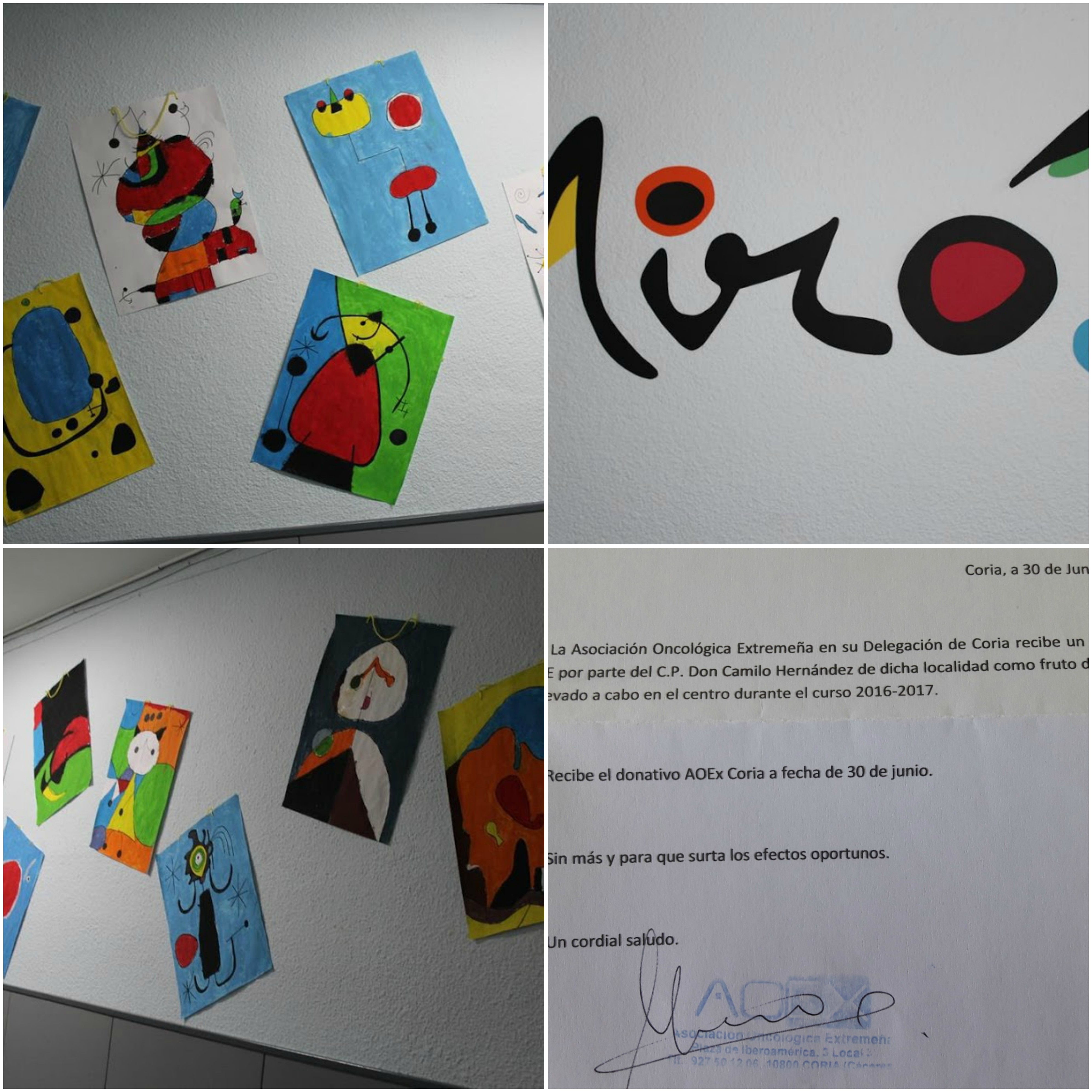 collage Miró